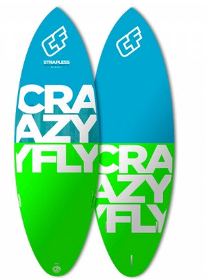 2016 Crazy Fly Strapless Surfboard