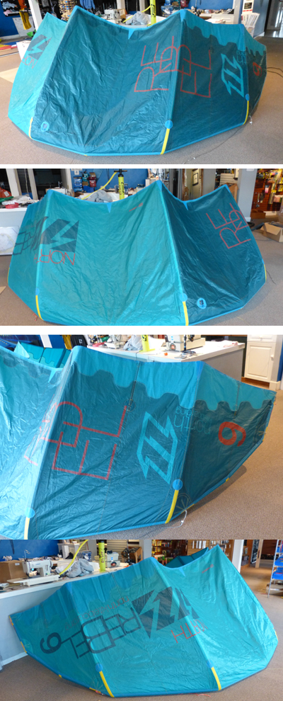 2015 NORTH REBEL 9 Kite Only LIKE NEW!