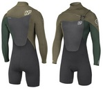 2018 NP Rise LS Spring 32 FZ GBS Wetsuit
