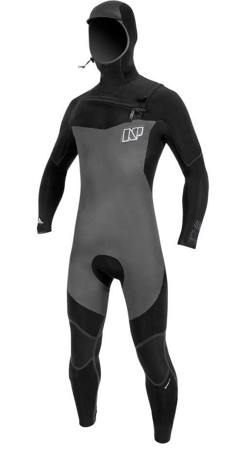 NP Mission 6.4 Front Zip Hooded Wetsuit